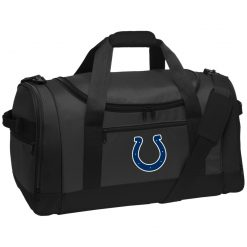 Indianapolis Colts NFL Pro Line Gray Victory Travel Sports Duffel