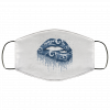 Biting Glossy Lips Sexy Los Angeles Rams NFL Football Face Mask