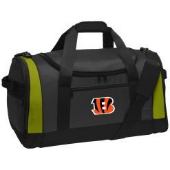 Cincinnati Bengals NFL Line Gray Victory Travel Sports Duffel