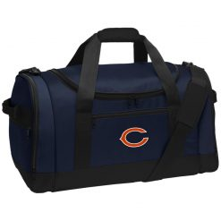 Chicago Bears NFL Pro Line Gray Victory Travel Sports Duffel