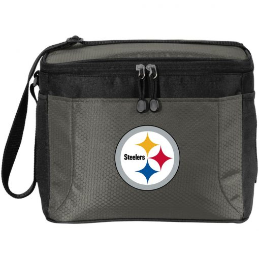 Pittsburgh Steelers NFL Pro Line Gray Victory Pack Cooler