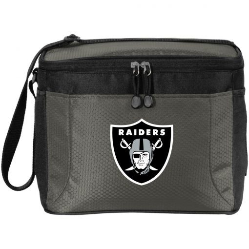 Oakland Raiders NFL Line by Fanatics Branded Black Victory Pack Cooler