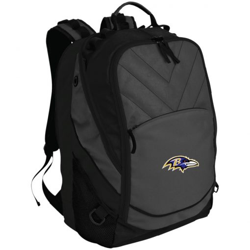 Baltimore Ravens NFL Pro Line by Fanatics Branded Gray Victory Laptop Computer Backpack