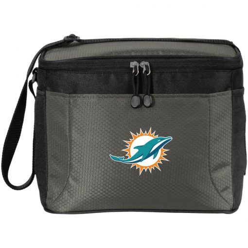 Miami Dolphins NFL Line by Fanatics Branded Aqua Vintage Victory Pack Cooler