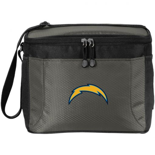 Los Angeles Chargers NFL Pro Line by Fanatics Branded Gray Victory Arch Pack Cooler