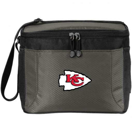 Kansas City Chiefs Line Gray Victory Arch Pack Cooler