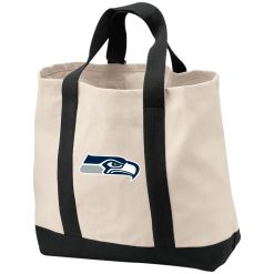 Seattle Seahawks NFL Pro Line Gray Victory Shopping Tote