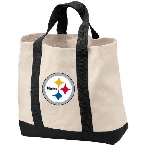 Pittsburgh Steelers NFL Pro Line Gray Victory Shopping Tote