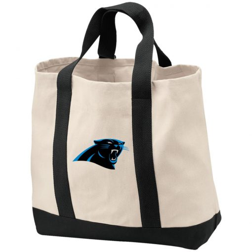 Panthers NFL Pro Line by Fanatics Branded Gray Victory Shopping Tote