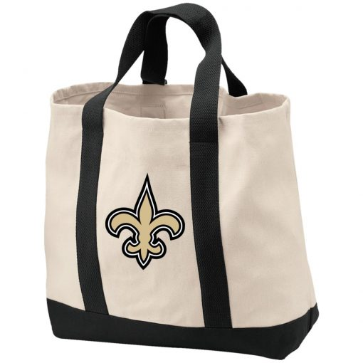 Orleans Saints NFL Pro Line Gray Victory Shopping Tote