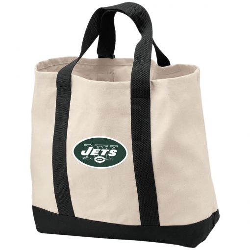 New York Jets NFL Line by Fanatics Branded Vintage Victory Shopping Tote