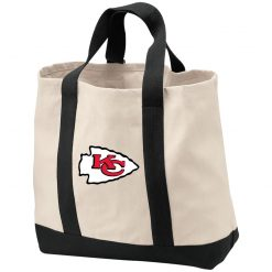 Kansas City Chiefs Line Gray Victory Arch Shopping Tote