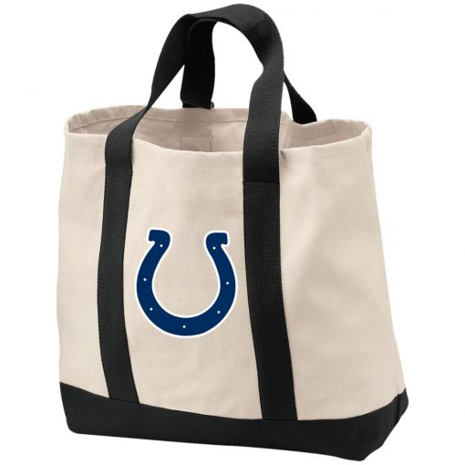 Indianapolis Colts NFL Pro Line Gray Victory Shopping Tote