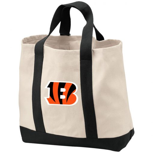 Cincinnati Bengals NFL Line Gray Victory Shopping Tote