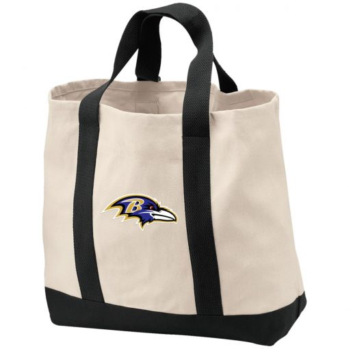 Baltimore Ravens NFL Pro Line by Fanatics Branded Gray Victory Shopping Tote