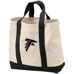 Atlanta Falcons NFL Line by Fanatics Branded Gray Victory Shopping Tote