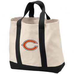 Chicago Bears NFL Pro Line Gray Victory Shopping Tote