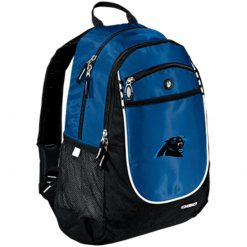 Panthers NFL Pro Line by Fanatics Branded Gray Victory Rugged Bookbag