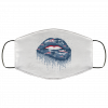 Biting Glossy Lips Sexy New England Patriots NFL Football Face Mask