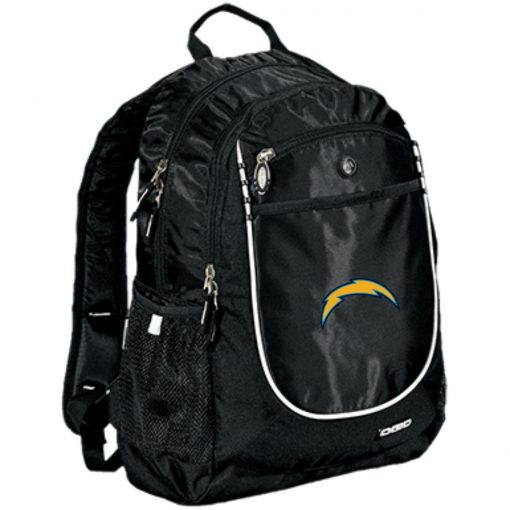 Los Angeles Chargers NFL Pro Line by Fanatics Branded Gray Victory Arch Rugged Bookbag