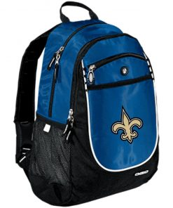 Orleans Saints NFL Pro Line Gray Victory Rugged Bookbag