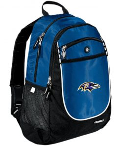Baltimore Ravens NFL Pro Line by Fanatics Branded Gray Victory Rugged Bookbag