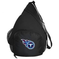 Tennessee Titans NFL Pro Line by Fanatics Branded Light Blue Active Sling Pack