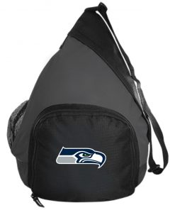 Seattle Seahawks NFL Pro Line Gray Victory Active Sling Pack