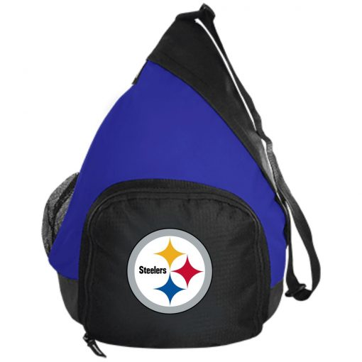 Pittsburgh Steelers NFL Pro Line Gray Victory Active Sling Pack