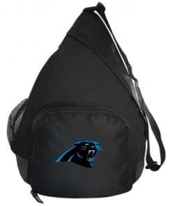 Panthers NFL Pro Line by Fanatics Branded Gray Victory Active Sling Pack