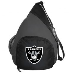 Oakland Raiders NFL Line by Fanatics Branded Black Victory Active Sling Pack