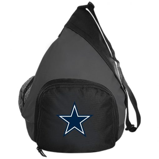 Dallas Cowboys NFL Pro Line by Fanatics Branded Gray Victory Active Sling Pack