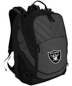 Oakland Raiders NFL Line by Fanatics Branded Black Victory Laptop Computer Backpack