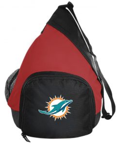 Miami Dolphins NFL Line by Fanatics Branded Aqua Vintage Victory Active Sling Pack