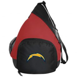 Los Angeles Chargers NFL Pro Line by Fanatics Branded Gray Victory Arch Active Sling Pack