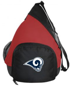 Los Angeles Rams NFL Pro Line by Fanatics Branded Gray Victory Active Sling Pack