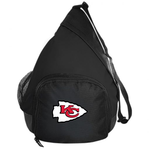Kansas City Chiefs Line Gray Victory Arch Active Sling Pack