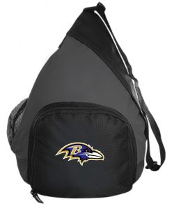 Baltimore Ravens NFL Pro Line by Fanatics Branded Gray Victory Active Sling Pack