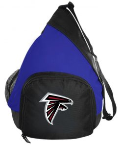 Atlanta Falcons NFL Line by Fanatics Branded Gray Victory Active Sling Pack