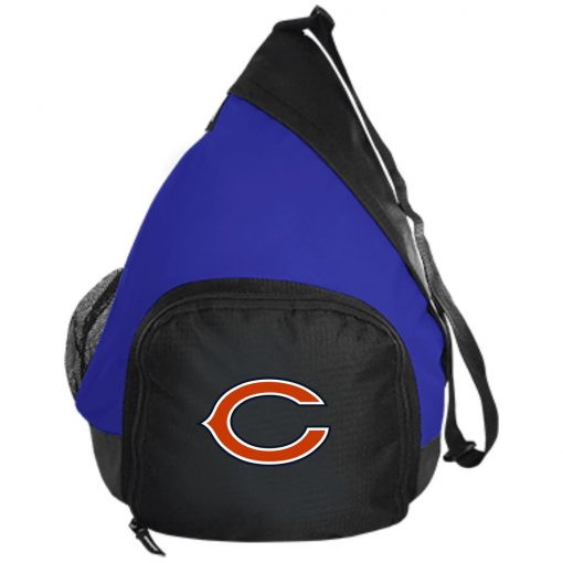 Chicago Bears NFL Pro Line Gray Victory Active Sling Pack