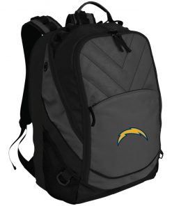 Los Angeles Chargers NFL Pro Line by Fanatics Branded Gray Victory Arch Laptop Computer Backpack
