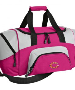 Chicago Bears NFL Pro Line Gray Victory Colorblock Sport Duffel