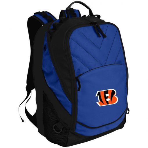Cincinnati Bengals NFL Line Gray Victory Laptop Computer Backpack