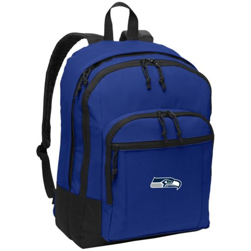 Seattle Seahawks NFL Pro Line Gray Victory Basic Backpack