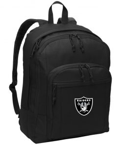 Oakland Raiders NFL Line by Fanatics Branded Black Victory Basic Backpack