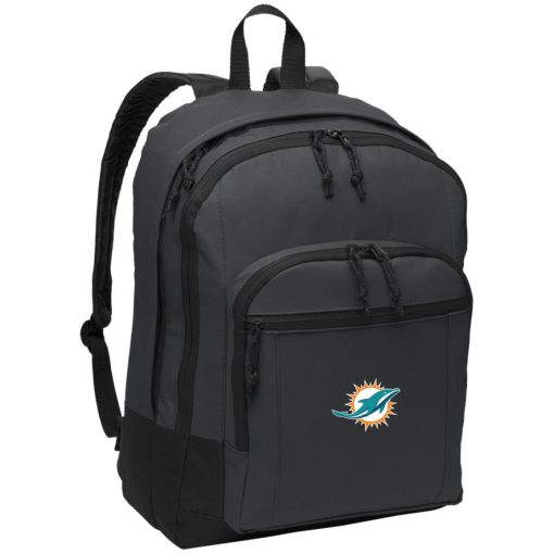 Miami Dolphins NFL Line by Fanatics Branded Aqua Vintage Victory Basic Backpack