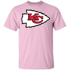 Kansas City Chiefs Line Gray Victory Arch Men T-Shirt