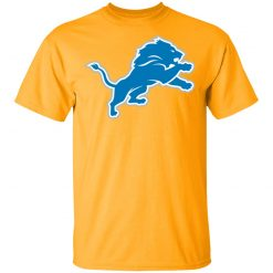 Detroit Lions NFL Pro Line by Fanatics Branded Blue Vintage Victory Men T-Shirt