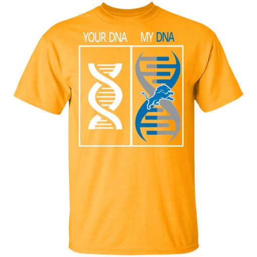 My DNA Is The Detroit Lions Football NFL Men T-Shirt