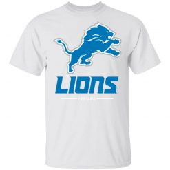 Detroit Lions NFL Pro Line Black Team Lockup T-Shirt